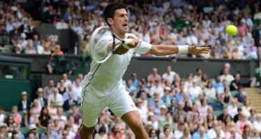 WIMBLEDON DAY 1 : Djokovic spazza via Gobulev