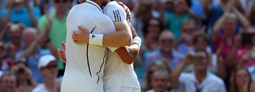 WIMBLEDON : Murray dalla parte di Djokovic, Federer nella metà di Nadal