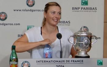 """ROLAND GARROS 2014 : Maria Sharapova """"Sono orgogliosa della mia vittoria"""""""