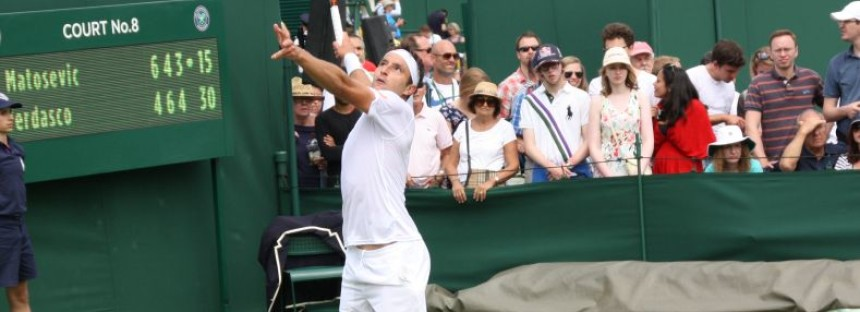 WIMBLEDON DAY 1 : Out Verdasco