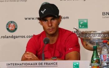 """ROLAND GARROS 2014 : Rafael Nadal """"E' stata una grande emozione"""""""