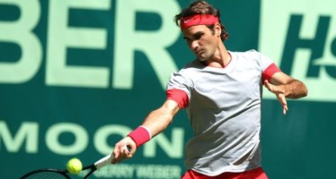 Halle : Roger Federer sfida in finale Alejandro Falla