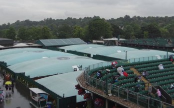 WIMBLEDON DAY 6 : Rain delay Sharapova in campo sul Centrale