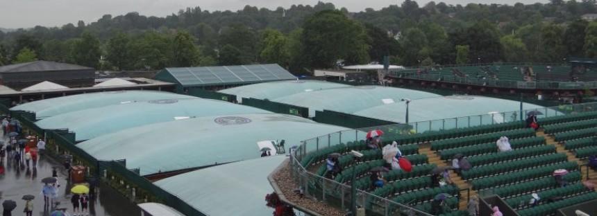WIMBLEDON DAY 6 : Rain delay Sharapova in campo sul Centrale