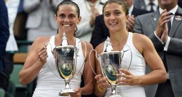WIMBLEDON : Titolo del doppio a Errani Vinci. Grande Slam di doppio in carriera!