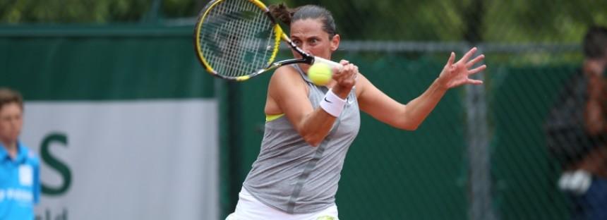 WTA NEW HAVEN : Roberta Vinci spreca 2 match-points e si arrende alla Wozniacki,