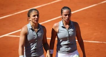 Classifica WTA Italiane : Errani stabile al n.12, perdono una posizione Pennetta e Giorgi. Errani e Vinci n.1 del mondo in doppio