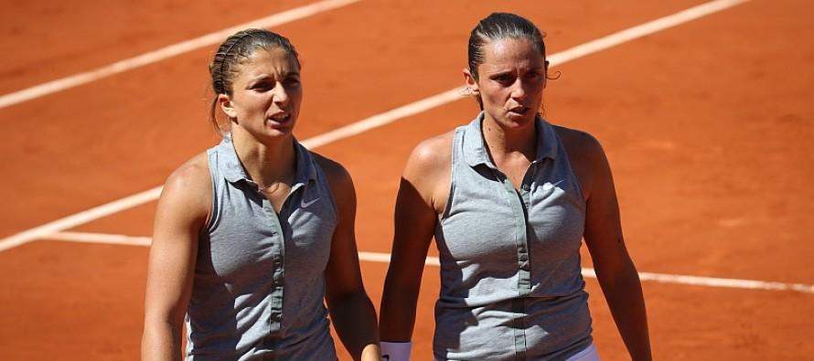 WTA MONTREAL Doppio: Errani e Vinci nei quarti