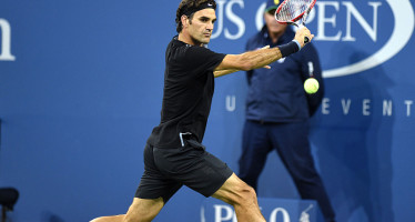 US OPEN : Roger Federer debutto con vittoria