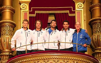 DAVIS CUP 2015 : Italia Kazakistan ad Astana