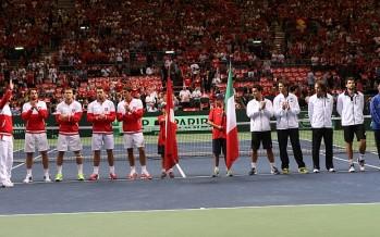 Coppa Davis Italia-Svizzera : I convocati, assente Fognini, debutta Cecchinato