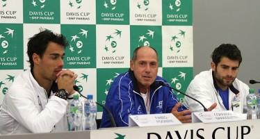 """COPPA DAVIS SVIZZERA-ITALIA 2-1 : Corrado Barazzutti """"Loro devono ancora vincerla questa semifinale."""""""