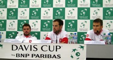 """COPPA DAVIS SVIZZERA-ITALIA 2-1 : Stan Wawrinka """"La cosa positiva è che siamo ancora 2-1"""""""