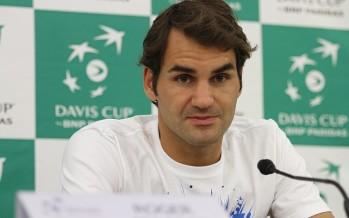 """FINALE COPPA DAVIS : Roger Federer """"Ho cercato di trarre il meglio dall'infortunio"""""""