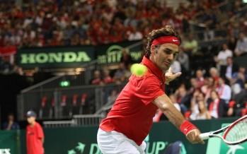 FINALE COPPA DAVIS : FRANCIA SVIZZERA 1-1, Federer cede a Monfils