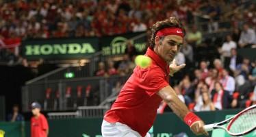 COPPA DAVIS SVIZZERA-ITALIA 2-1 : Federer-Fognini singolare decisivo