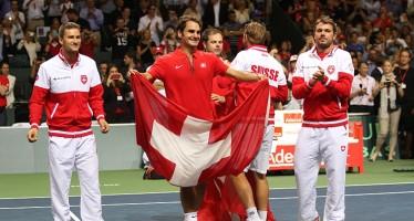COPPA DAVIS : Svizzera in finale contro la Francia, i precedenti