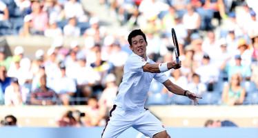 US OPEN : Nishikori supera wawrinka in 5 set, primo giapponese in semifinalein uno Slam dal 1933.