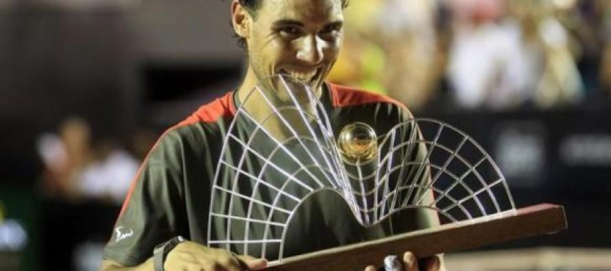 Rafa Nadal giocherà in Sudamerica anche nel 2015