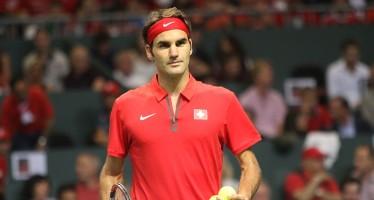MASTERS 1000 SHANGAI :  Trionfa Roger Federer 76 76 a Gilles Simon