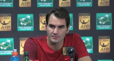 BNP PARIBAS MASTERS  Roger Federer : Raonic, quando serve,  vi toglie la racchetta di mano