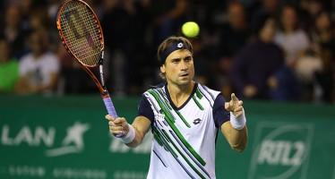 ATP FINALS LONDRA : Ferrer vince il primo set contro Nishikori, Federer in semifinale