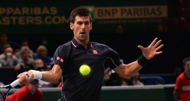 ATP FINALS LONDRA : Novak Djokovic in finale Nishikori cede al terzo.