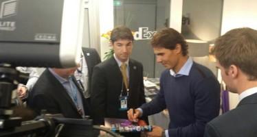 ATP FINALS LONDRA : Rafael Nadal a Londra, ma solo in visita