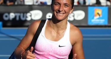 OPEN d'Australia : Passa Sara Errani, eliminata Roberta Vinci.