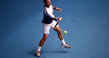 OPEN D'AUSTRALIA : Wawrinka, Djokovic, e Raonic facili agli ottavi, perde un set Nishikori , sopresa Gilles Muller