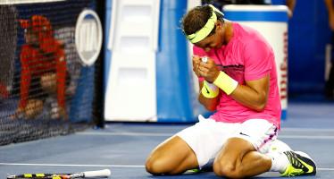 Open d'Australia : Nadal che fatica. Superato Smyczek 7/5 al quinto