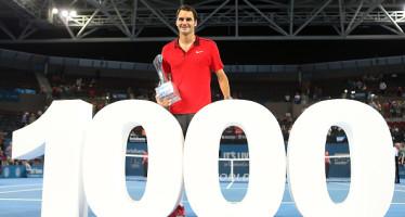 ATP BRISBANE : Trionfa Federer che sigla la vittoria n°1000