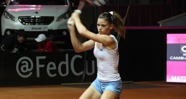 WTA KATOWICE : Camila Giorgi per un posto in semifinale