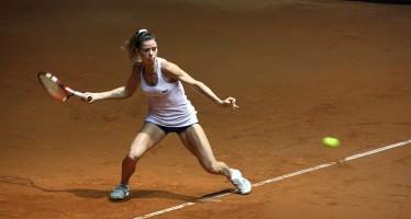 FED CUP ITALIA-FRANCIA 2-1 : Camila Giorgi fa suo il primo set 64