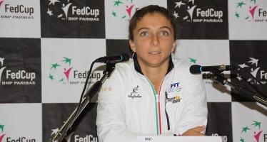 """FED CUP ITALIA-FRANCIA 1-0 : Sara Errani """"Sono contenta della mia partita"""""""