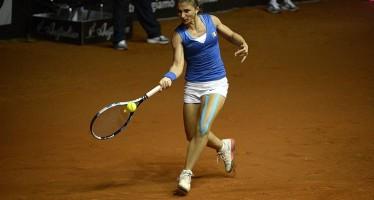FED CUP ITALIA-FRANCIA : A Sara Errani il primo set 7/6