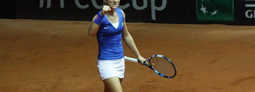WTA Stoccarda : Errani debutto col botto, eliminata la Radwanska