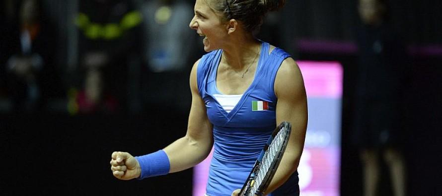 WTA Rio de Janeiro : Sara Errani annulla tre match-points e vola in semifinale