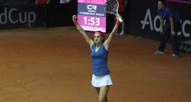 FED CUP ITALIA-FRANCIA 2-2 : Caroline Garcia annienta la Giorgi. Ora doppio decisivo