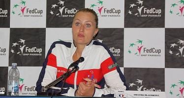 FED CUP ITALIA-FRANCIA 2-1 : Kristina Mladenovic 'Una delle mie vittorie più belle'