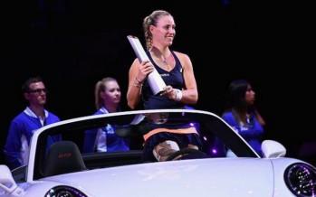 WTA STOCCARDA : Angelique Kerber profeta in patria. La tedesca supera in finale Caroline Wozniacki