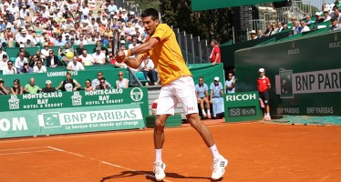MONTE-CARLO ROLEX MASTERS : Djokovic troppo forte per Haider-Maurer