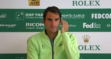 MONTE-CARLO ROLEX MASTERS – Roger Federer : Le cose non andavano come volevo.