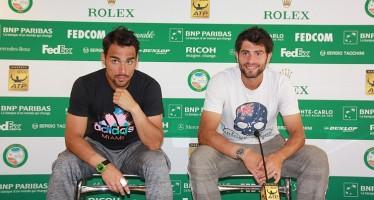 """MONTE-CARLO ROLEX MASTERS – Bolelli/Fognini : """"E' stato un grande risultato"""""""