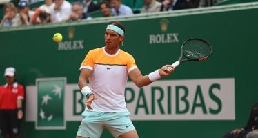 MONTE-CARLO ROLEX MASTERS : Rafael Nadal nuova racchetta solita vittoria