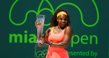 WTA MIAMI : Serena Williams vince l'ottavo titolo