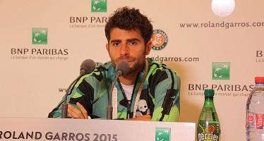 """ROLAND GARROS : Simone Bolelli """"Sono contento di come ho giocato oggi"""""""