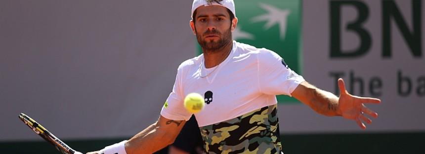 ROLAND GARROS : Simone Bolelli ottimo tennis, ma non basta contro David Ferrer