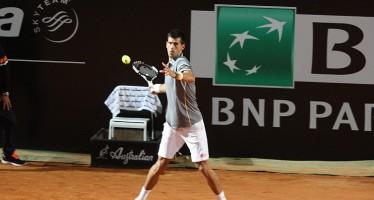 INTERNAZIONALI BNL d'ITALIA : Djokovic tre set per battere Bellucci
