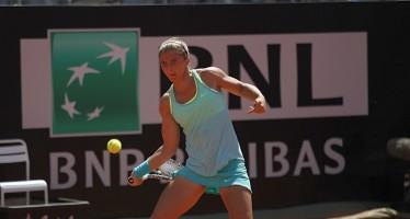 INTERNAZIONALI BNL d'ITALIA : Sara Errani al secondo turno, ma che fatica contro la Hantuchova